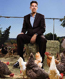 HSU Wayne Pacelle claims credit for banning cages.
